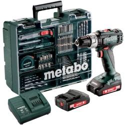 Metabo SB 18 I Mobile inclusief koffer en accessoires