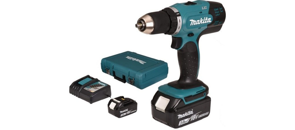 Makita DDF453SFE accuboormachine review