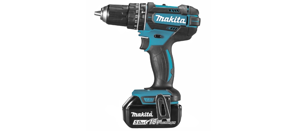 Makita DHP482RTJ accuboormachine review