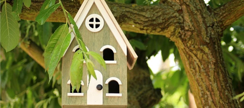 zelf een vogelhuisje maken van hout stappenplan